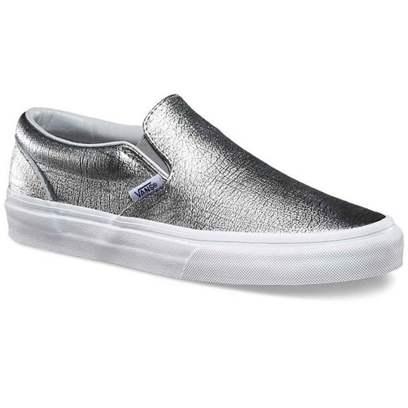 Vans Shoes | Vans Glitter Slip Ons